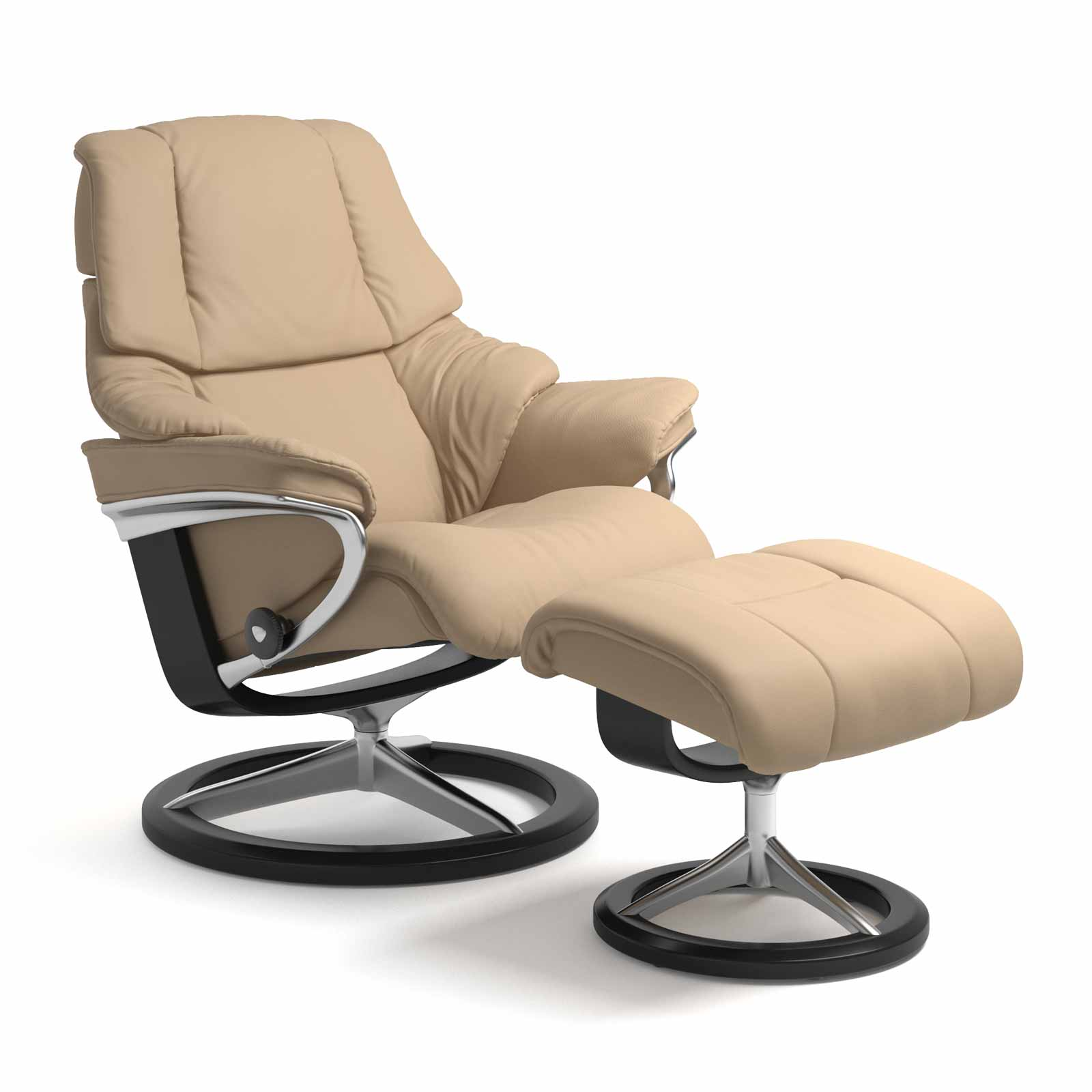 Stressless Sessel Reno Signature Paloma Beige Mit Hocker