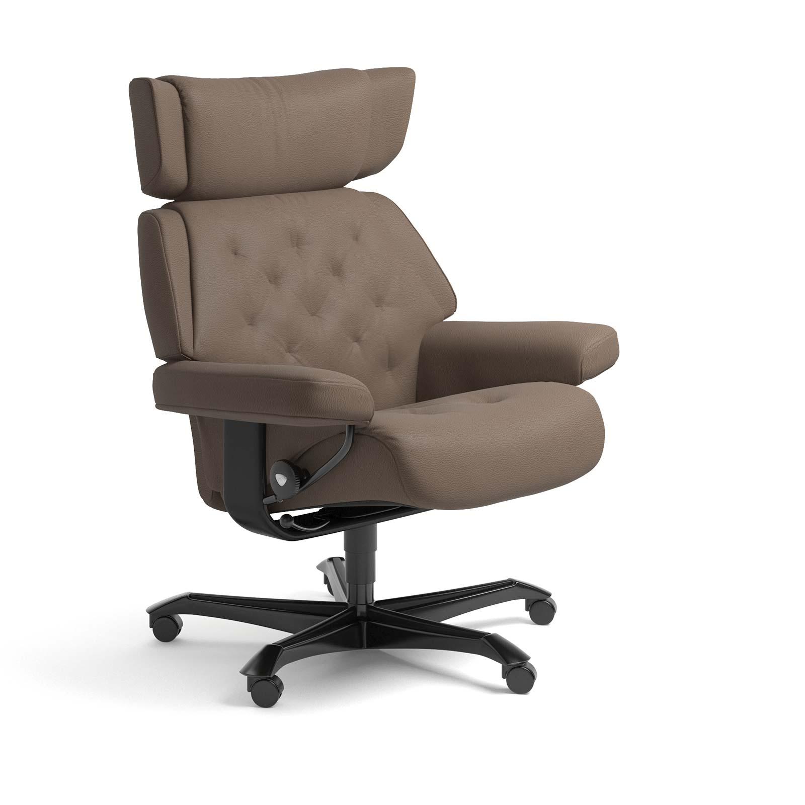Stressless Sessel SKYLINE Home Office Leder Batick mole