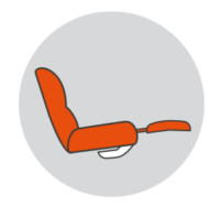 Stressless LegComfort Icon ohne Text